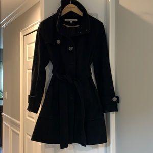 Black Kenneth Cole Black Coat